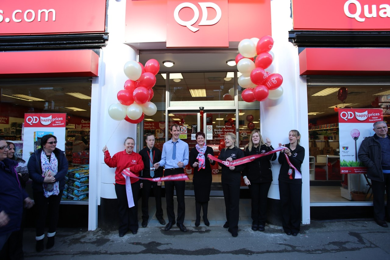 QD Store Celebrates a First Successful Year in Raunds