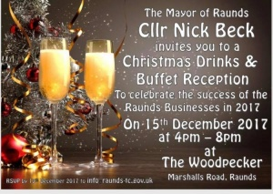 Christmas Drinks & Buffet for Local Businesses @ The Woodpecker | Raunds | England | United Kingdom