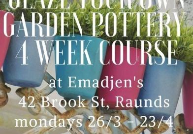 Wilder Pottery Glazing 4 Week Course