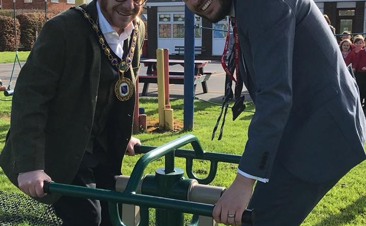 Windmill School Officially Opens New Playgrounds