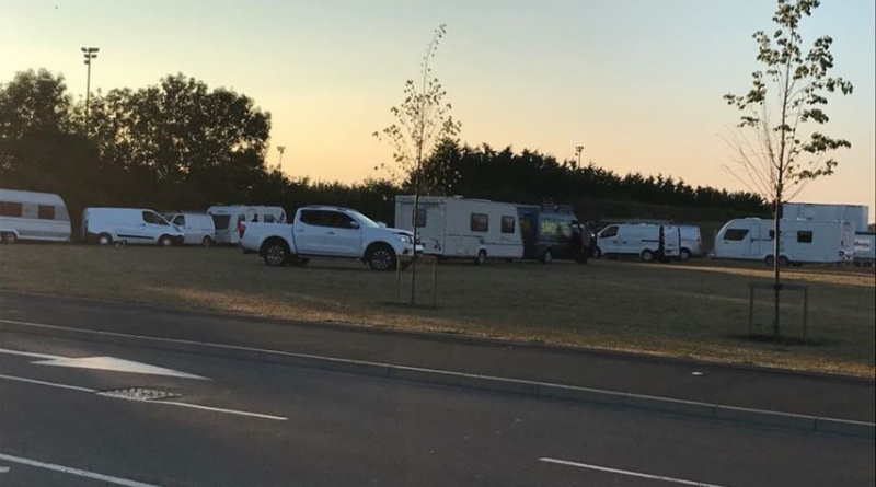 Raunds Traveller Encampment Issued with Eviction Order