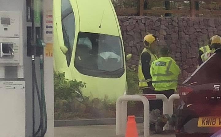 Car Accident at Raunds Asda