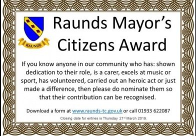 Raunds Mayor's Citizens Awards