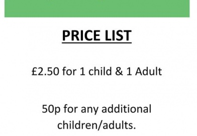 Raunds Stay & Play Price Changes